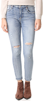 A Gold E AGOLDE Sophie High Rise Cropped Jeans