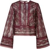 Lover Helix Bodice blouse - women - Silk/Polyester - 2