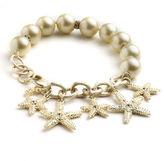 ABS by Allen Schwartz Beaded Charm Bracelet
