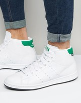 adidas Stan Smith Winterized Sneakers In White S80498