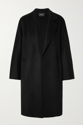Akris Halma Cashmere Coat - Black