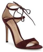 Gianvito Rossi Suede Stiletto Heel Sandals