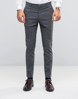 Asos WEDDING Skinny Suit Pants With Stretch