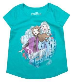 Nannette Little Girl's Frozen 2 Elsa & Ana Cotton-Blend Tee