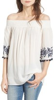 Show Me Your Mumu Women's Presley Off The Shoulder Tunic