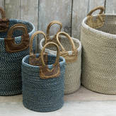 Nkuku Woven Coil Basket
