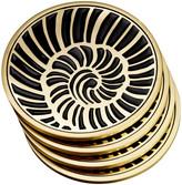 L'OBJET Shell Coasters - Set of 4
