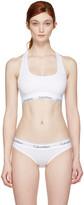Calvin Klein Underwear White Modern Bralette