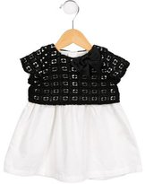 Kate Spade Girls' Eyelet-Accented A-Line Dress