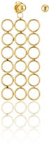 Smith/Grey Gold Circle Array Earrings
