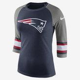 Nike Tri-Blend Raglan (NFL Patriots) Women's 3/4 Sleeve T-Shirt