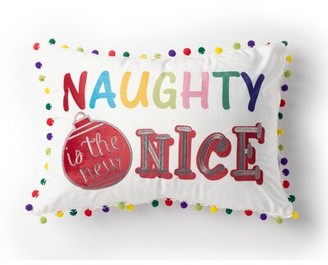 Protect A Bed Protect-A-Bed Naughty Is The New Nice Lumbar Pillow Protect-A-Bed