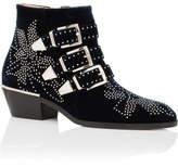 Chloé Ch24134 E41 Susanna Boot Velvet Wth Silver Studs