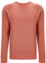 Dockers Crew Neck Jumper, Washed Red