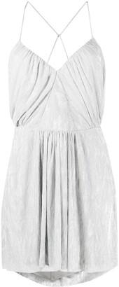 IRO Louxor draped mini dress