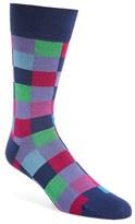 Bugatchi Men's Check Socks
