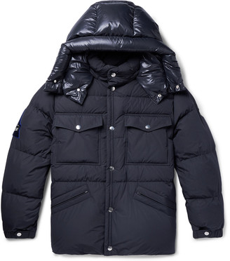 Moncler Vilbert Slim-Fit Quilted Shell Hooded Down Jacket