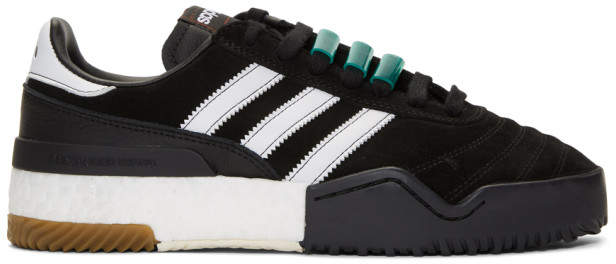 adidas By Alexander Wang by Alexander Wang Black AW BBall Soccer Sneakers