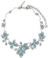 Oscar de la Renta flower necklace