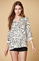 MinkPink Sumatran Tie Back Shirt