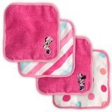 Disney Exclusive Baby Minnie Mouse Washcloth Set by