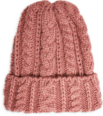 Topshop Cable Knit Beanie