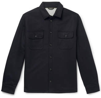 Loro Piana Storm System Cashmere Overshirt