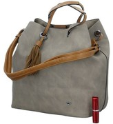 Tom Tailor Shopper Beuteltasche Beige
