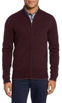 Ted Baker Men's Merino Wool Baseball Sweater