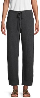 Vince Textured Wool-Blend Jogger Pants