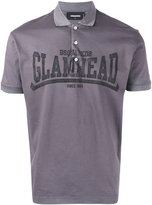 DSQUARED2 'Glamhead' polo shirt - men - Cotton - S