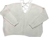 Bel Air Ecru Wool Knitwear for Women