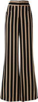 Etro striped flared trousers - women - Viscose - 40
