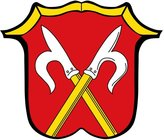 DIPLOMAT-FLAGS magFlags Table-Flag / Desk-Flag: Neubeuern, M 15x25cm