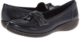 Clarks Ashland Bubble (Black) Women's Slip on Shoes