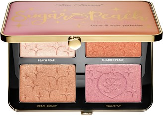 Too Faced Sugar Peach Face & Eye Palette - Peaches and Cream Collection