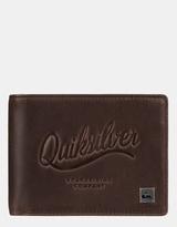 Quiksilver Mens Mack III Leather Wallet