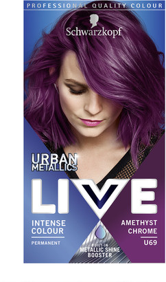 Schwarzkopf Live Colour Urban Metallics U69 Amethyst Chrome
