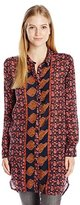 O'Neill Women's Bloom Printed Woven Top