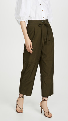 Jason Wu Cropped Workwear Pants