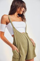 Out From Under Own It Asymmetrical Overall Romper