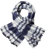 Scotch & Soda Checked Wool Scarf