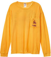 Victoria's Secret Victorias Secret Arizona State University Long Sleeve Campus Tee