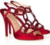 Christian Louboutin Uni Strass 120 satin sandals