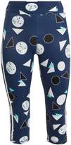 The Upside Power Match Point-print performance leggings