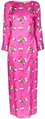BERNADETTE Kelly floral print midi dress