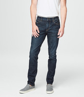 Slim Taper Blue-Black Dark Wash Reflex Jean