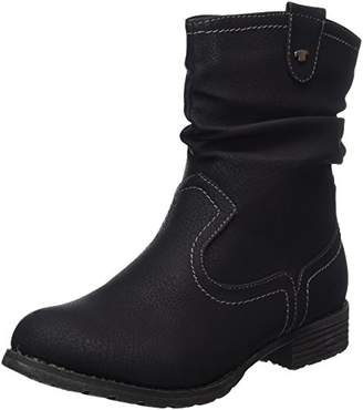 Tom Tailor Women's 379990330 Boots, (Black)