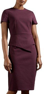 Ted Baker Elynah Peplum Sheath Dress