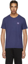 Fendi Blue 'Fendi Bubble' T-Shirt